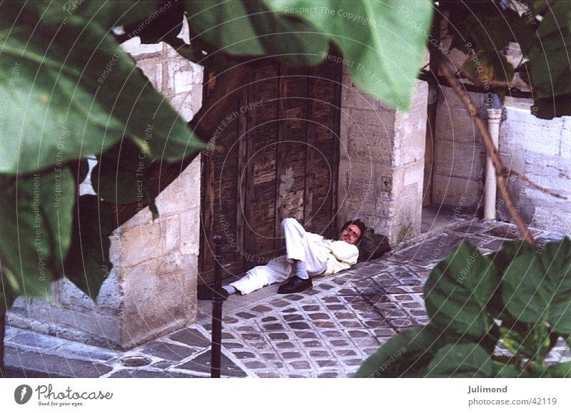 leaf dreams Human being Rues de Paris Summer 2000