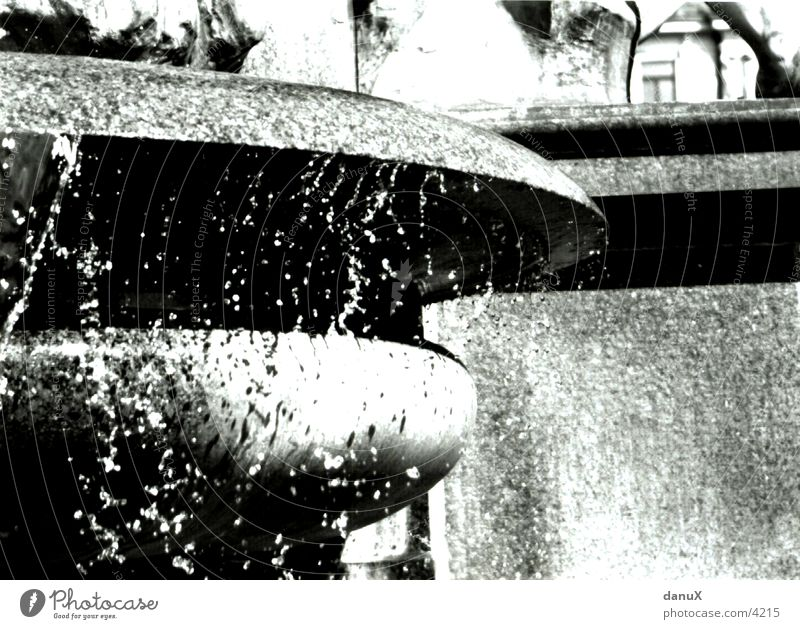 Water Stone Drops of water Well Flow Zurich Photographic technology