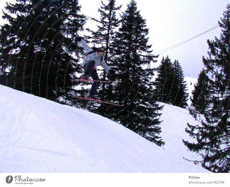 Winter Snow Skiing