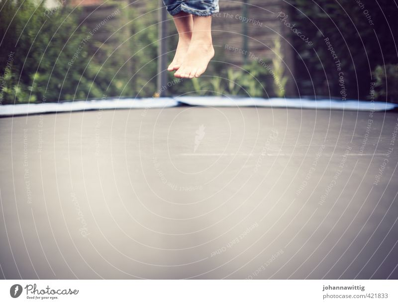 weightless . two Boy (child) Joy Trust Life Feet Feet up Tickle arise Ground Really Escape from reality Headless Trampoline Dynamics Elastic Air Summery