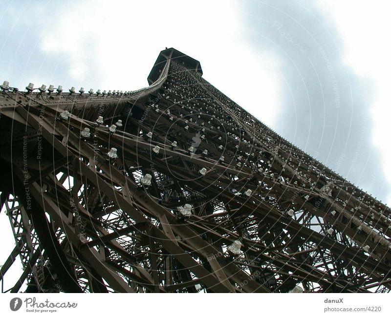 Eiffel Tower Worm's-eye view Scaffold Metal