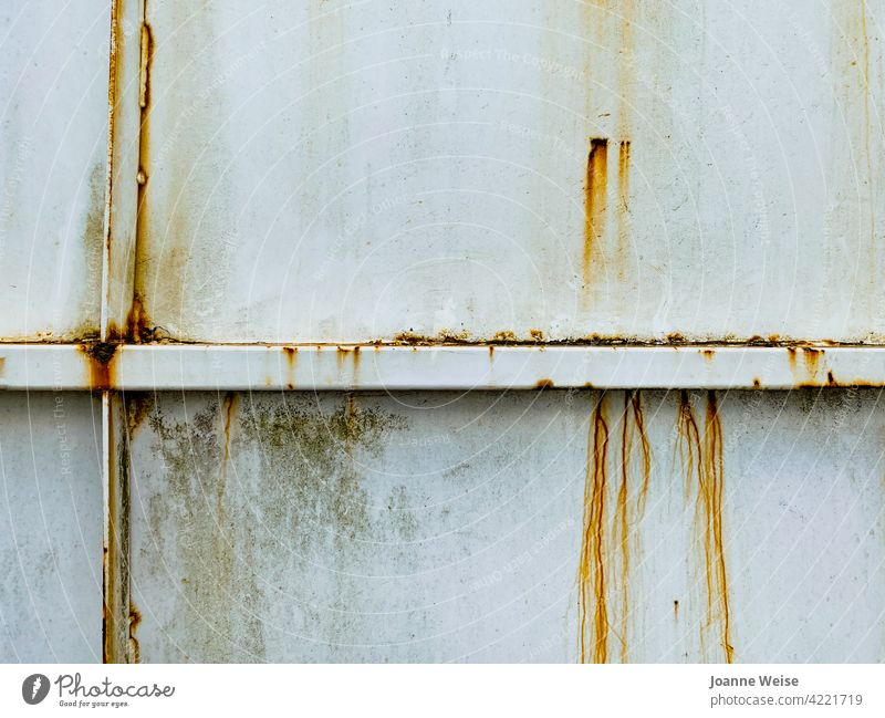 Rusty steel wall. rusty metal Old Metal Colour photo Exterior shot Steel Iron old Structures and shapes Weathered Pattern Brown Close-up Deserted grunge texture
