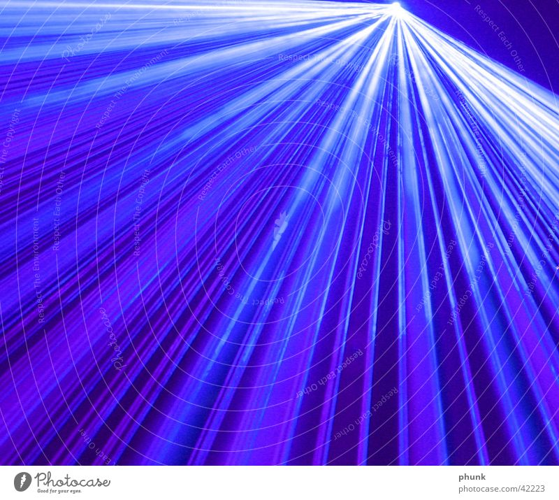 Blue Waves Fog Disco Smoke Laser Photographic technology