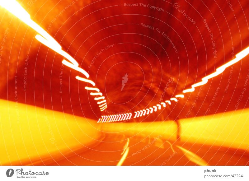 Red Yellow Tunnel