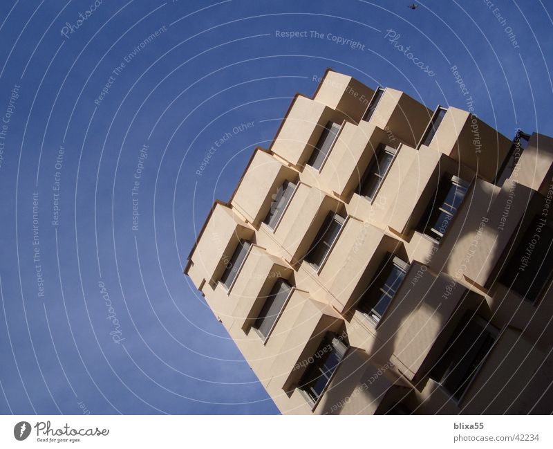 Window Architecture Facade Modern Observe Balcony Grid Weather protection