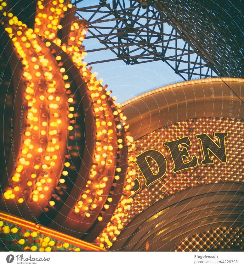 DEN or DEM? Las Vegas Bright Colours Neon sign Illuminate LED Luminosity Beacon Fluorescent Lights Lampshade lamps Lighting store Electric bulb Americas Casino