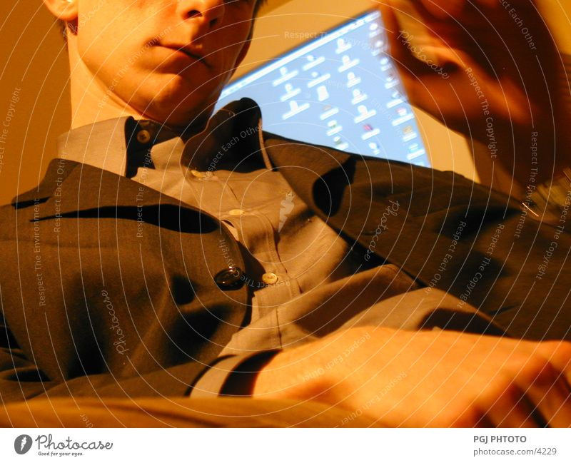 Human being Man Relaxation Work and employment Computer Business Workplace Software