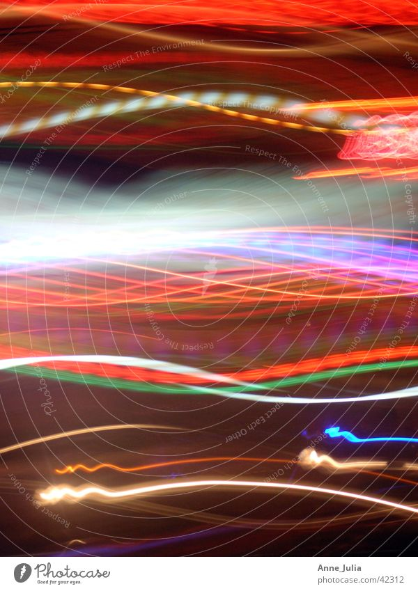 Saigon by night Light Neon sign Long exposure Night Transport Movement