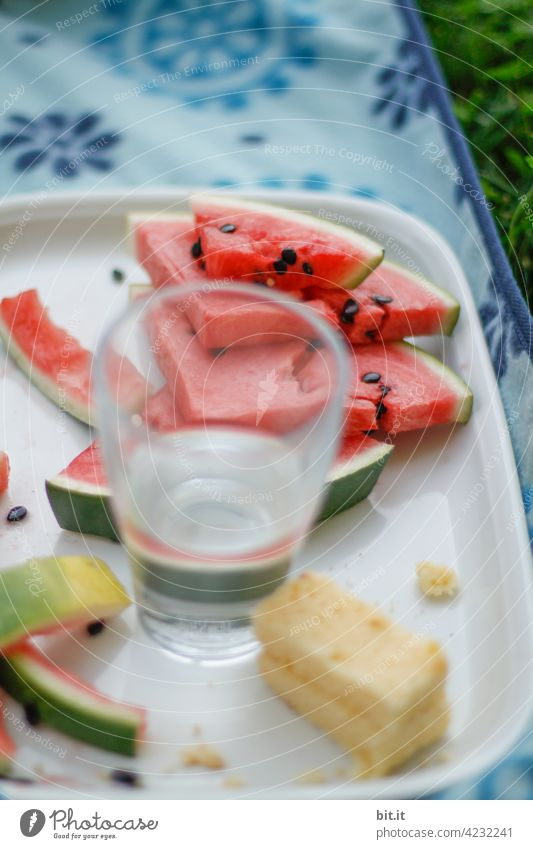 Water - melon Derby Melon Cut Sliced Fruit Red Food Nutrition Delicious Fresh Vegetarian diet Organic produce Healthy Diet Juicy Water melon Appetite