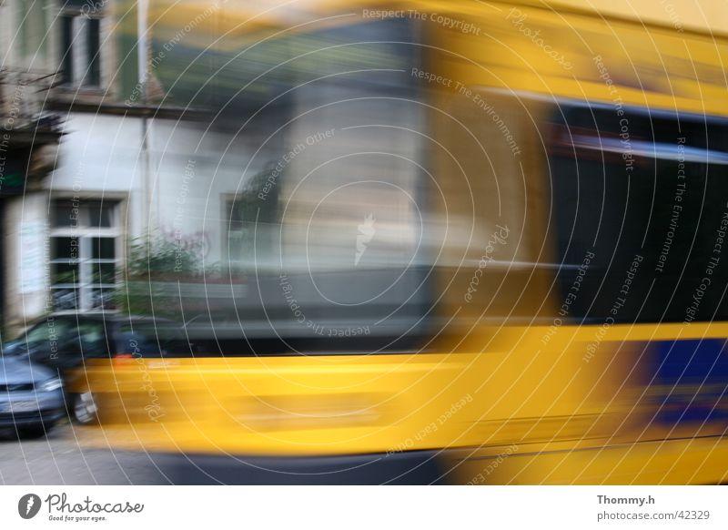 stress Speed Transport streetcar