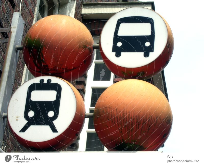 bus and train Icon Bracket Wall (building) House (Residential Structure) Symbols and metaphors Advertising Together Industry Bus Railroad Sphere Circle Orange