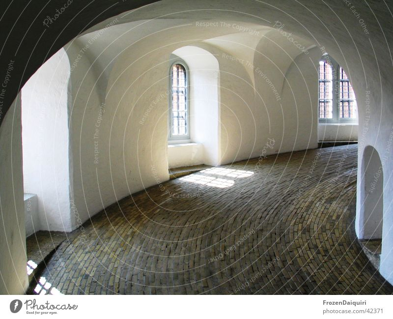 Old Street Dark Window Art Europe Historic Arch Denmark Sightseeing Tourist Attraction Curved Copenhagen Stone floor