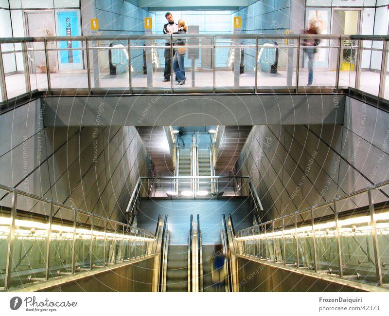 Human being Building Lighting Metal Art Architecture Glass Perspective Modern New Underground Illumination Denmark Sightseeing Tourist Attraction