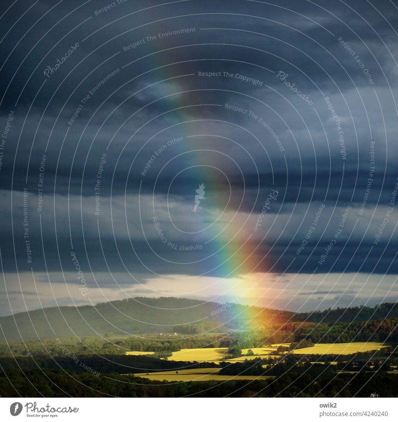 The great glow colour spectrum Prismatic colors Sublime ascending Gigantic Detail Nature Glittering Illuminate Environment Building Far-off places Long shot
