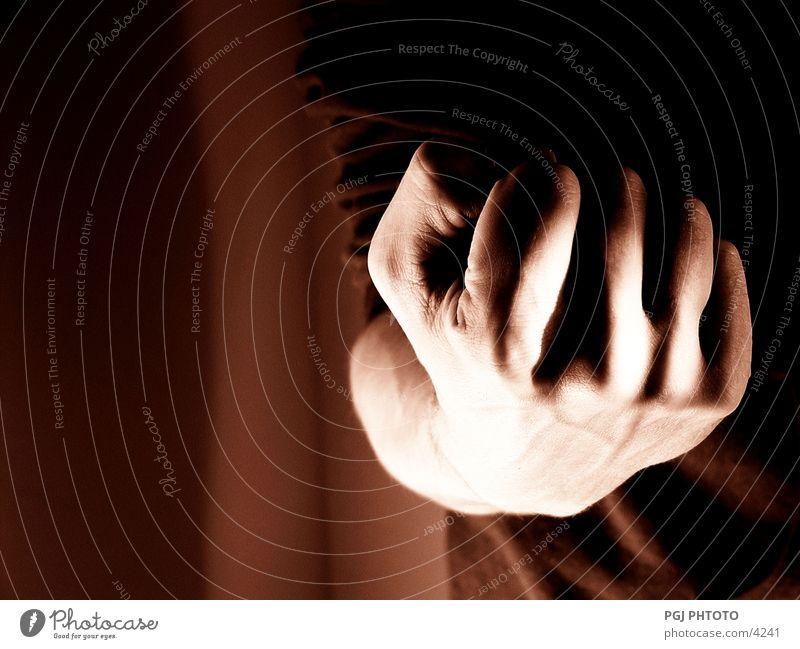 Strong fist Fist Hand Fingers Brutal Power Man Sign Force agressive Loudspeaker
