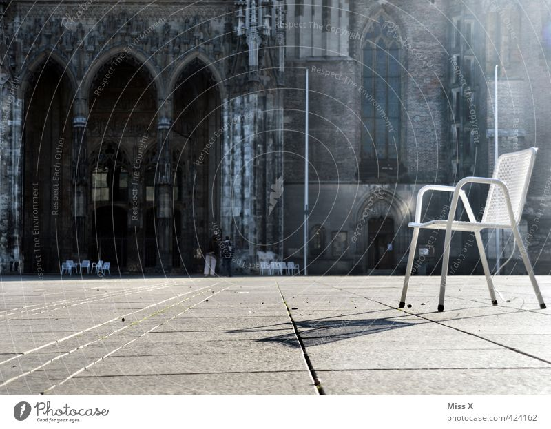 vantage point Vacation & Travel Tourism Sightseeing Chair Downtown Old town Deserted Church Places Marketplace Tourist Attraction Landmark Monument Sit