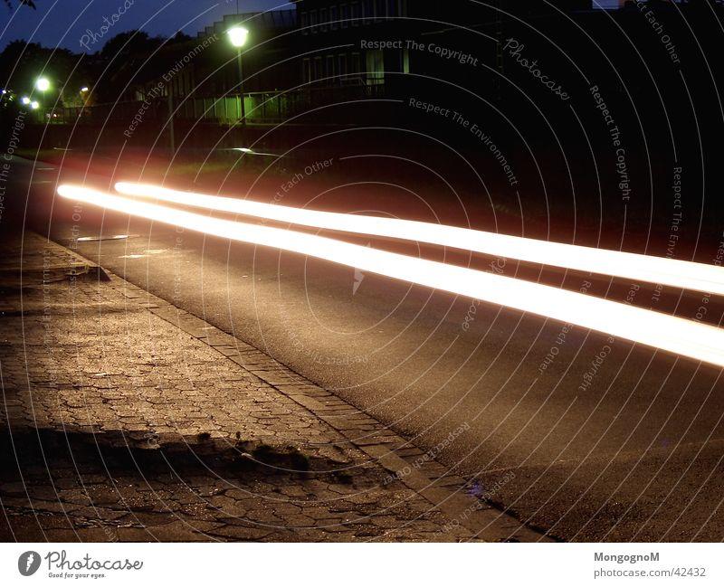 Street Car Speed Strip of light