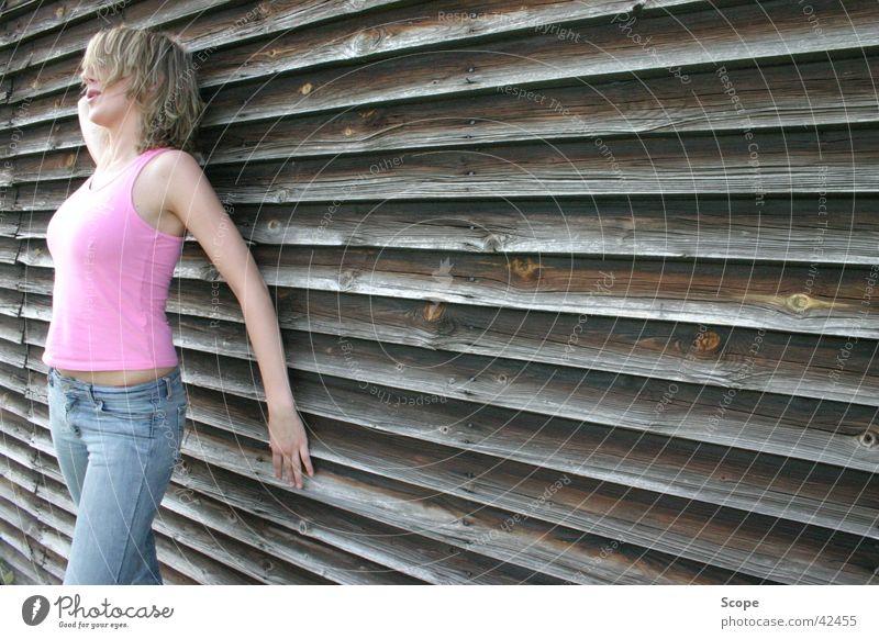 Woman Feminine Wood Pink