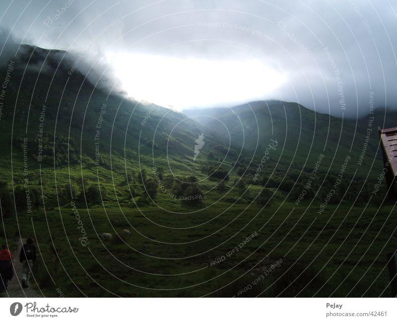 Highlands Green Light Radiation Hiking Sheep Mountain Lanes & trails