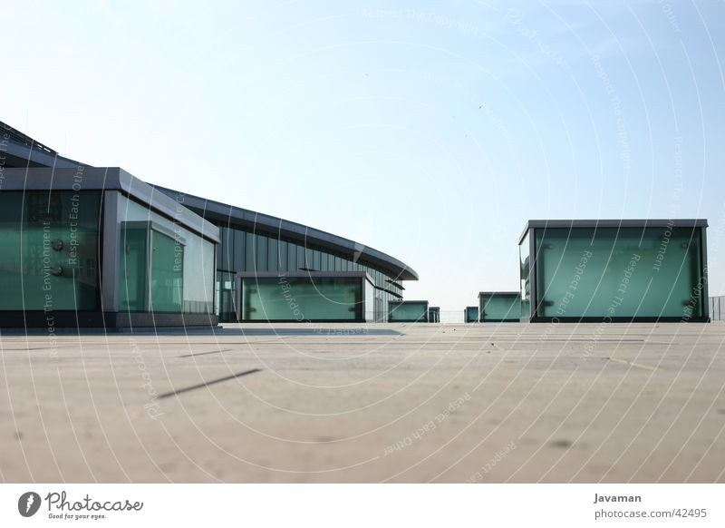 Architecture Modern Dresden Pane Congress center Modern architecture Bright background Congress building