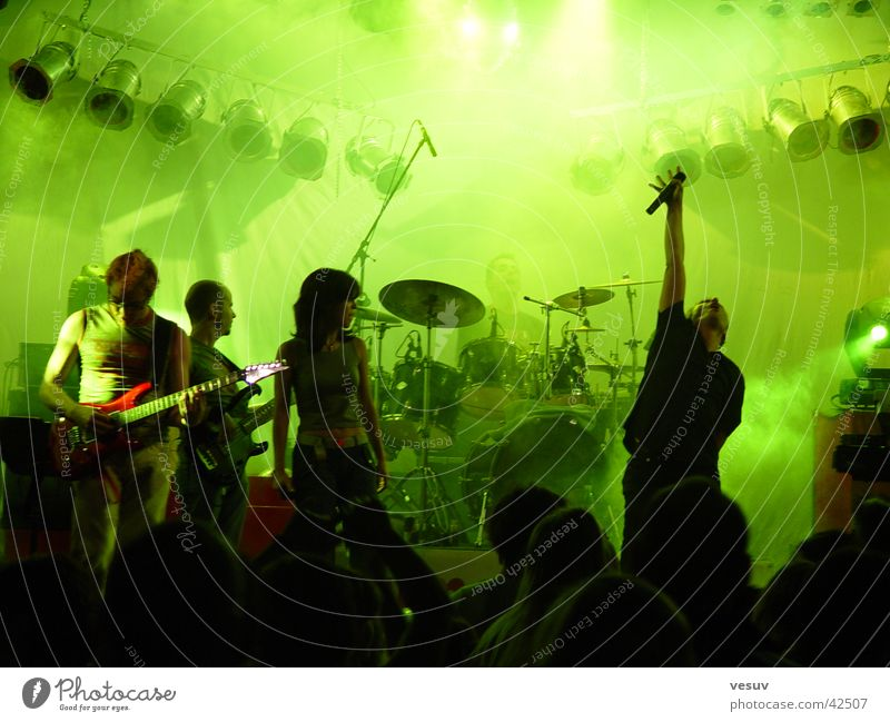 Green Music Multiple Leisure and hobbies Shows String Sound Reaction Federal State of Tyrol