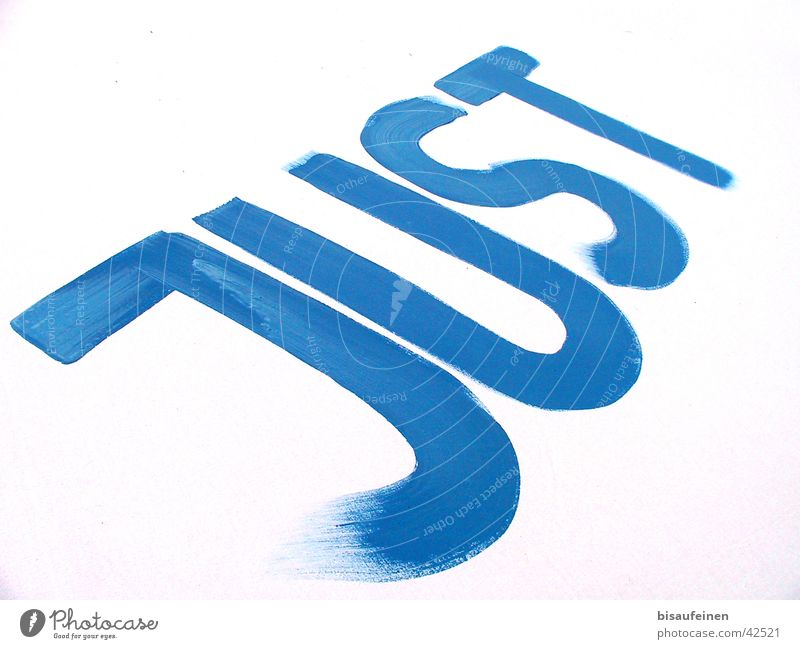 Just married... Text Word Brush stroke Paintbrush White Photographic technology Characters Line Blue Snapshot