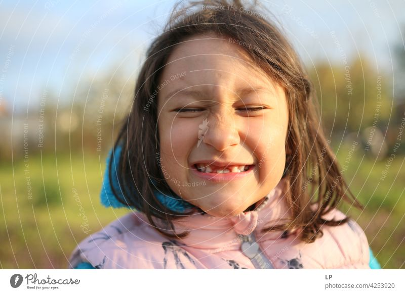cute girl showing missing teeth Set of teeth Detail Close-up New Healthy Dental care Health care Dentistry milky dentition Pride Joy Day Happy Happiness