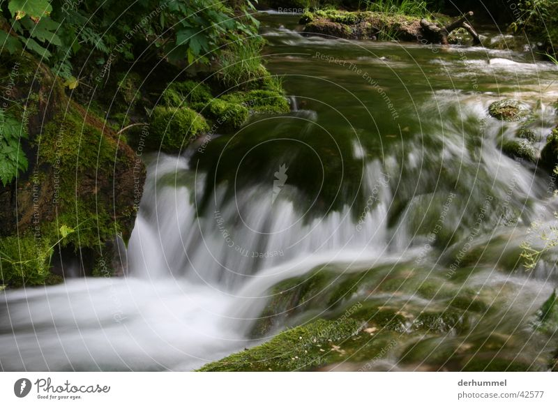Nature Water River Brook White crest Foam