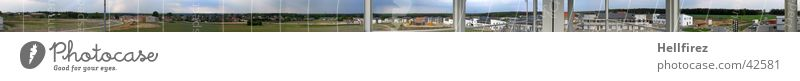 Large Vantage point Construction site Panorama (Format) Plain Lausitz forest