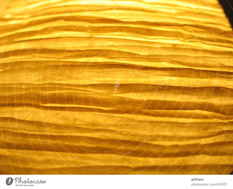 Yellow Colour Line Paper Stripe Things Warped
