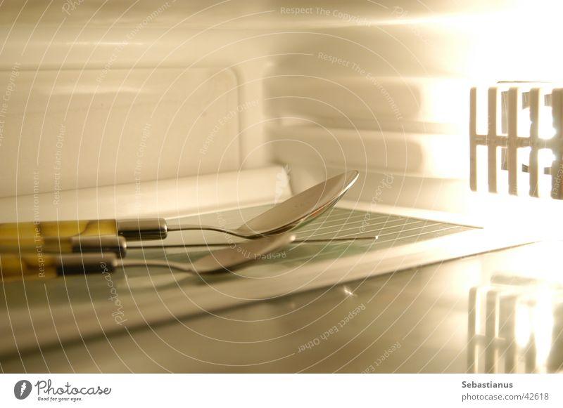 Cold Living or residing Lemon Cutlery Fork Spoon Icebox