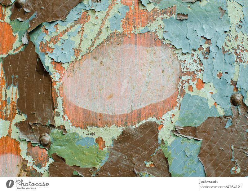 life breaks   detachment of the paint layers from time to time Wood Varnish Wood grain Scratch mark Old Apocalyptic sentiment Past Transience Weathered