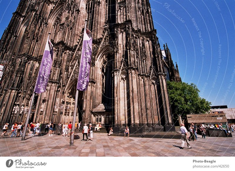 Religion and faith Cologne Historic Holy Belief Dome Christianity Assembly Cathedral Clergyman Catholicism Pope World Youth Day