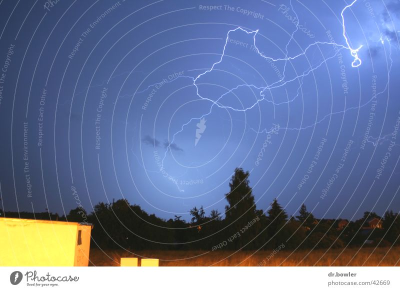 Rain Lightning Thunder and lightning Storm