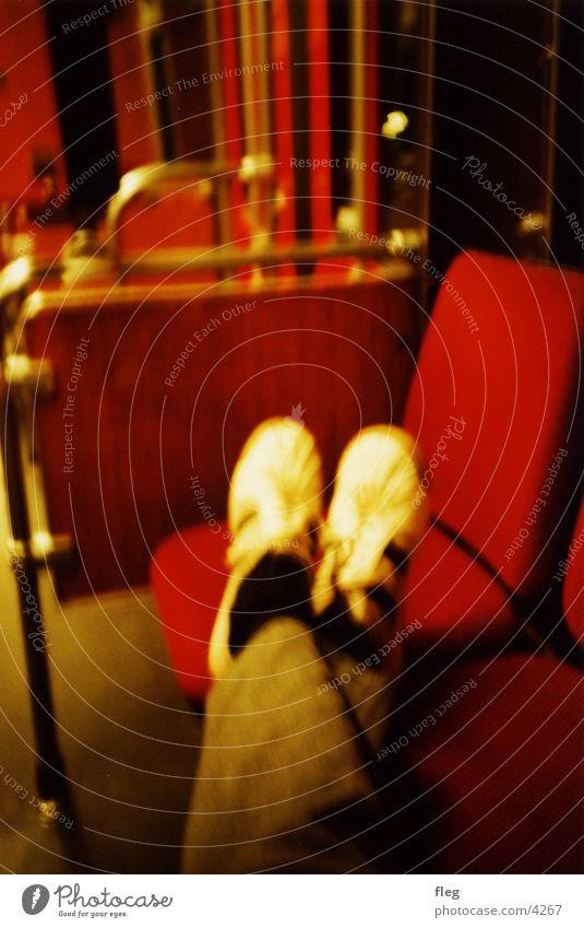 Foot off the seat! 2 Tram Lomography Footwear Night Flashy Club Railroad Legs blur