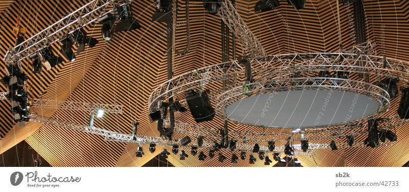 Sky Architecture Building Lamp Lighting Roof Theatre Warehouse Floodlight Stage lighting Candlestick Projection screen Traverse Tempodrom