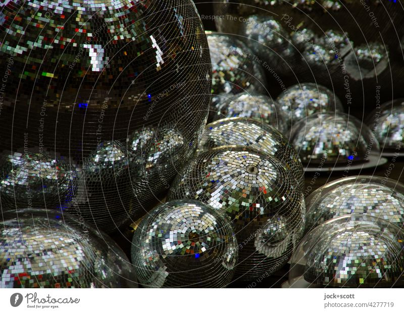 your discos / clubs need you more and more Disco ball Club Reflection Glittering Shadow Decoration Night life Party Sphere Lifestyle Many Entertainment