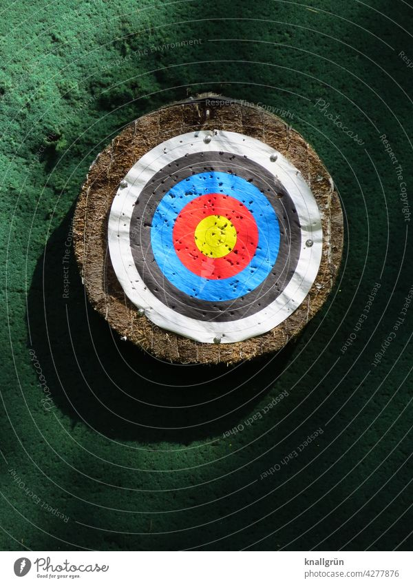 target Target Playing Leisure and hobbies Center point Aim Strike Accuracy Concentrate Success Sports Precision archery Sporting event Colour photo Joy