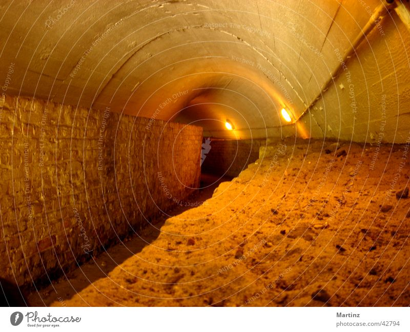 tunnels Passage Architecture tunnel corridor Cellar arch Way into the darkness narrow path