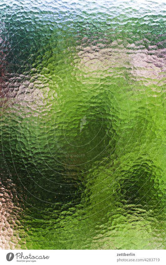 Life behind ribbed glass variegated Diffuse Pressure Print shop printed matter Transparent Colour colored color calibration color blotches colour samples