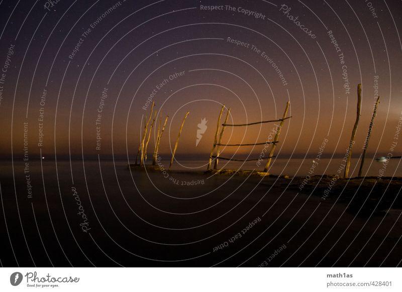 Nature Ocean Calm Wood Star (Symbol) Serene Caution Patient