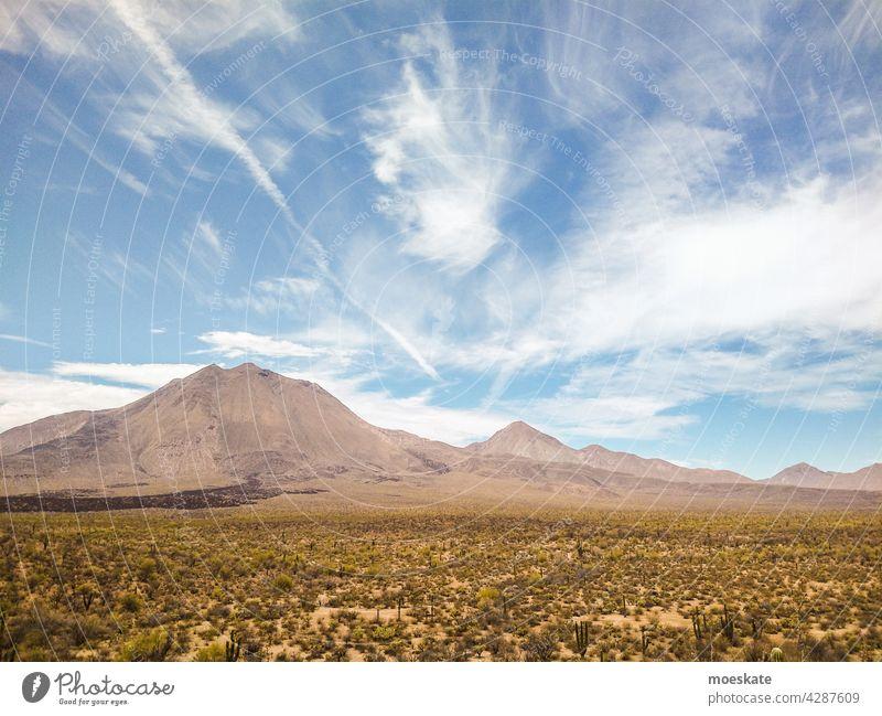 Tres Virgenes, Baja California Sur, Mexico Volcano tres virgenes volcanic baja california sur Desert cacti volcanoes volcano chain Dry Summer warm Hot Clouds