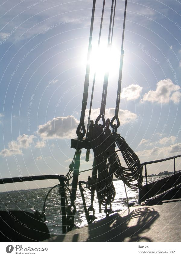 rig Sailing Summer Vacation & Travel Watercraft Ocean Rigging Navigation Rope Sun
