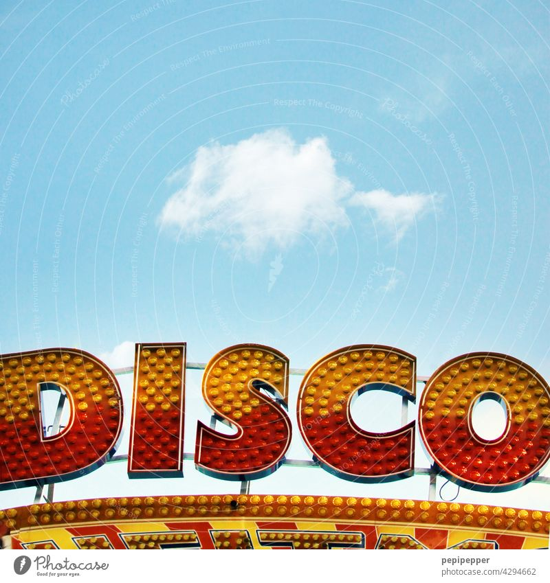 DISCO illuminated sign Disco Party Club Light Dance Party goer Feasts & Celebrations Human being Light (Natural Phenomenon) Music Clubbing Going out