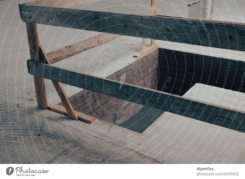 restricted area cordon Construction site Safety Barrier Hoarding Deserted Fence Protection Grating Structures and shapes Bans Wooden fence accident prevention