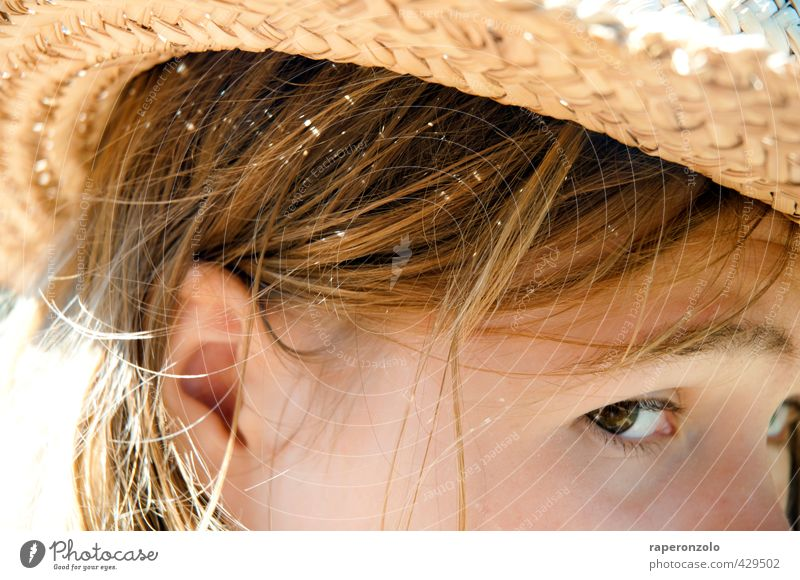 Sardinia, 40 degrees Vacation & Travel Tourism Far-off places Summer Summer vacation Sun Sunbathing Beach Feminine Young woman Youth (Young adults) Head