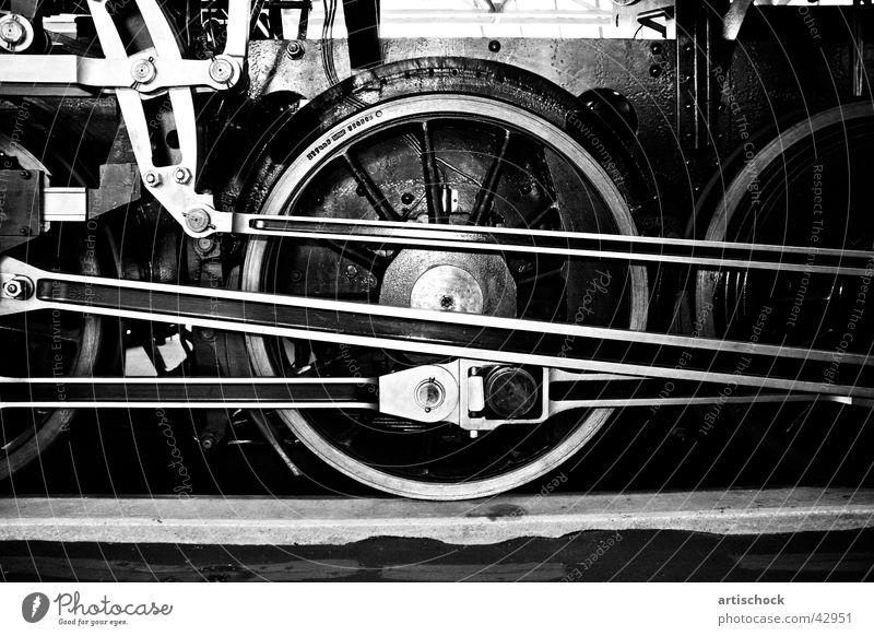 Historic Museum Iron Engines Impulsion Railroad Steamlocomotive