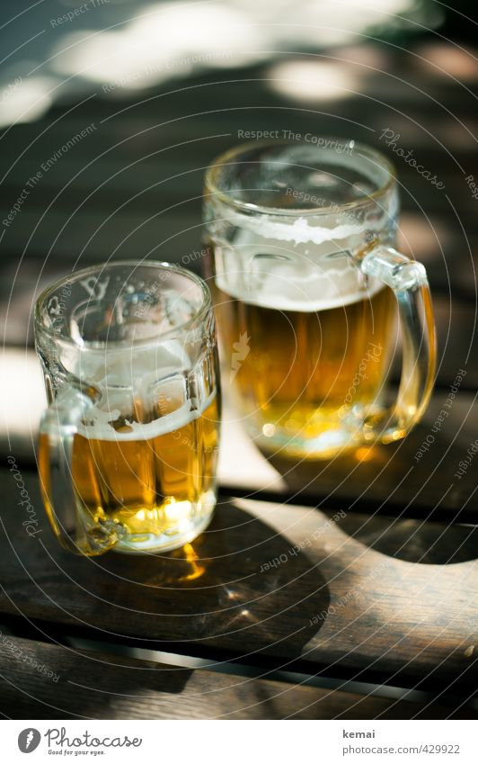 Cold Wood Small Gold Glittering Glass Large Beverage Table Beer Delicious Alcoholic drinks Cold drink Beer garden Beer mug