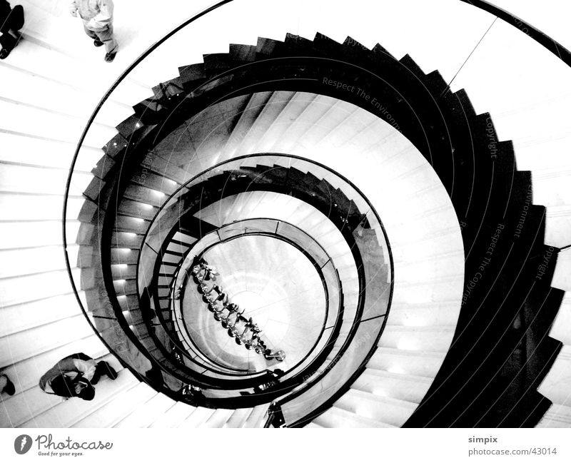 EU stairs Strasbourg European Parliament Architecture Black & white photo Stairs