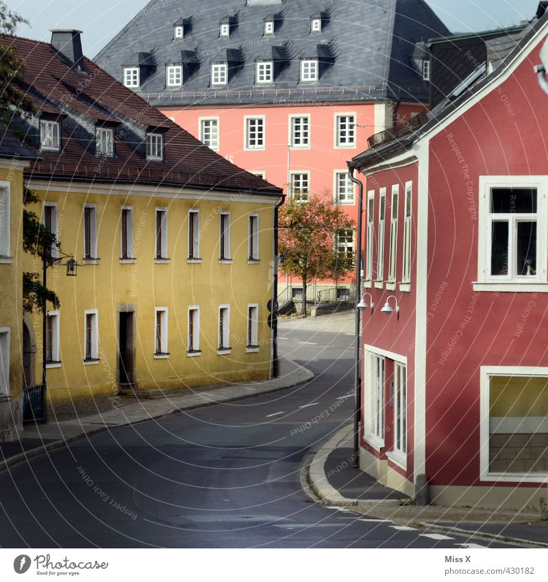 small town Village Small Town Downtown Old town House (Residential Structure) Marketplace City hall Building Wall (barrier) Wall (building) Facade Window Door